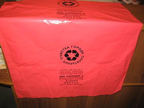 Пакеты высоко давления 60 мкм выдерживают 15...  Специальные пакеты для сбора и хранения отходов.